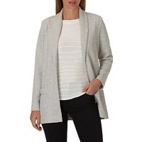 Betty Barclay Long Cardigan Jacket, Stone Grey