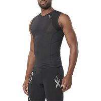 2xu Compression Sleeveless Training Top, Black
