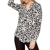 Damsel in a Dress Urban Leopard Blouse, Multi