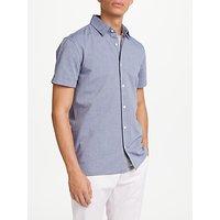 Edwin Nimes Short Sleeve Printed Shirt, Blue