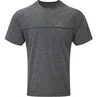 Ronhill Everyday Short Sleeve Running T-Shirt, Grey Marl