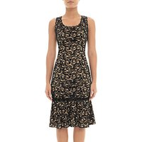 Adrianna Papell Sophia Lace Dress, Black