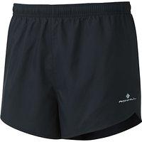 Ronhill Everyday Split Running Shorts, Black