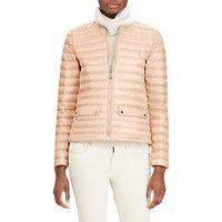 Polo Ralph Lauren Lightweight Down Jacket, Pale Pink