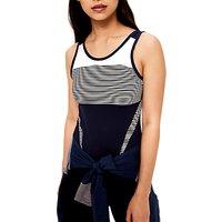 Lol Eliza Yoga Tank Top, Mirtillo Blue