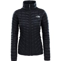 The North Face Thermoball Full-Zip Womens Insulated Jacket, Black