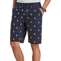 Barbour Beacon Embroidery Shorts, Navy