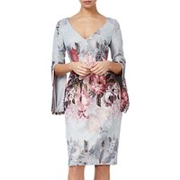 Adrianna Papell Matalesse Dress, Ice Blue Multi