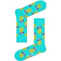 Happy Socks Pineapple Socks, One Size, Turquoise
