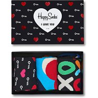 Happy Socks Valentines Gift Box, One Size, Pack of 4, Multi