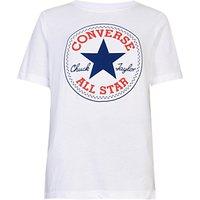 Converse Boys' Core Chuck Patch T-Shirt, White