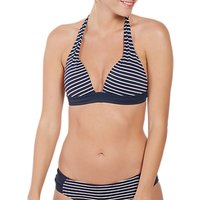 Fat Face Breton Cody Bikini Top, Navy