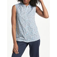 Collection WEEKEND by John Lewis Floral Sleeveless Shirt, Multi