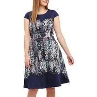 Studio 8 Marissa Floral Jersey Dress, Blue