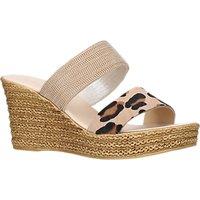 Carvela Comfort Sybil Platform Sandals, Gold/Multi