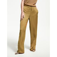 Modern Rarity Relaxed Wide Leg Trousers, Toffee