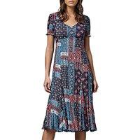 East River Lombok Print Dress, Multi