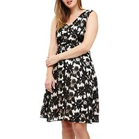 Studio 8 Bay Lace Dress, Black/Multi