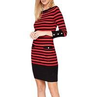 shop for Damsel in a Dress Azelia Stripe Dress, Multi at Shopo