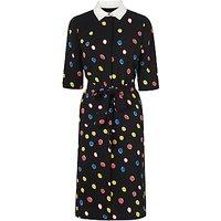 L.K. Bennett Carys Spot Dress, Black/Multi