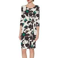 Gina Bacconi Nicola Floral Jersey Dress, Jade