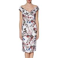 Gina Bacconi Dana Floral Jersey Dress, Multi