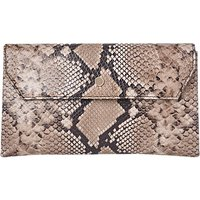 L.K. Bennett Dora Clutch Bag, Natural Leather