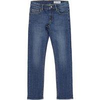 Polarn O. Pyret Children's Slim Fit Denim Jeans, Blue