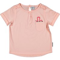 Polarn O. Pyret Children's Bow Top, Pink