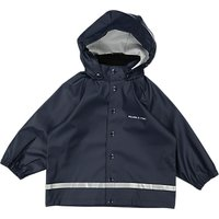 Polarn O. Pyret Baby Raincoat, Blue, 12-24 months