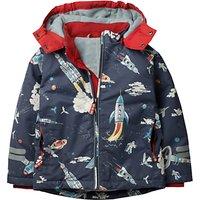 Mini Boden Boys' Fleece Lined Anorak Coat, Grey