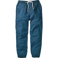 Mini Boden Boys' Lined Woven Joggers, Blue