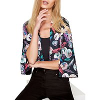 Damsel In A Dress Umbrella Print Kimono Jacket, Multi