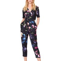 Damsel in a dress Pixelated Floral Print Jumpsuit, Multi