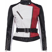 French Connection Evia Biker Jacket, Multi