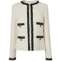 L.K.Bennett Charl Tailored Jacket, Cream