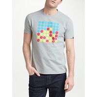 Original Penguin Four In A Row Graphic T-Shirt, Grey Heather
