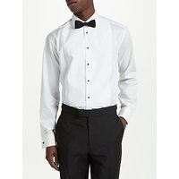 John Lewis and Partners Marcella Point Collar Regular Fit Dress Shirt, White