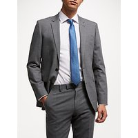 John Lewis and Partners Tailored Suit Jacket, Mid Grey