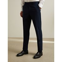John Lewis and Partners Tailored Suit Trousers, Navy