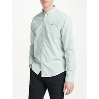 Scotch & Soda Classic Oxford Stripe Shirt, Mint