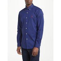 Polo Ralph Lauren Long Sleeve Button Down Shirt, Classic Navy
