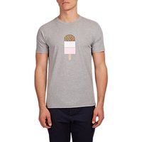 HYMN Southend Ice Lolly Graphic T-Shirt, Grey