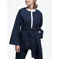 Kin Denim Kimono Jacket, Navy