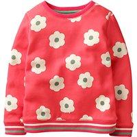 Mini Boden Girls' Cosy Sweatshirt, Pink