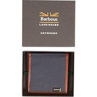 Barbour Defender Drywax Wallet, Navy