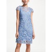 Winser London Lace Miracle Dress, Dusky Blue