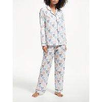 John Lewis Letitia Cotton Pyjama Set, Multi