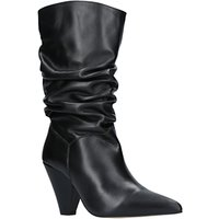 Carvela Scrunch Slouch Boots, Black