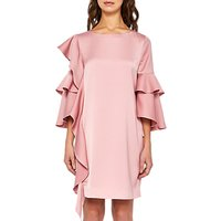 Ted Baker Eicio Frill Detail Tunic Dress, Pink